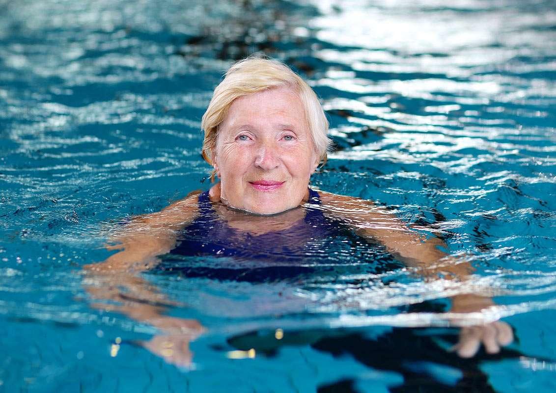 Adult swim camps